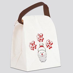 Ho Ho Ho! Canvas Lunch Bag