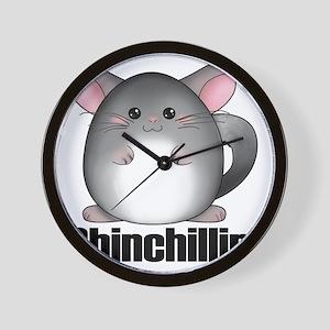 chinchillin3 Wall Clock