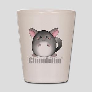 chinchillin2 Shot Glass