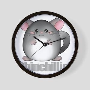 chinchillin2 Wall Clock