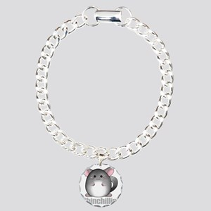 chinchillin2 Charm Bracelet, One Charm