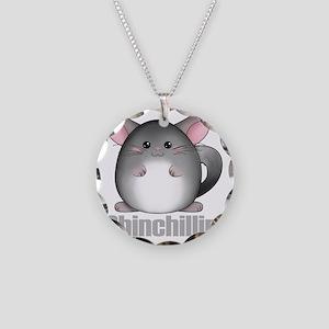 chinchillin2 Necklace Circle Charm