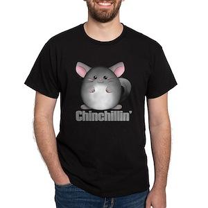 3c614aaa Funny Chinchilla Men's T-Shirts - CafePress