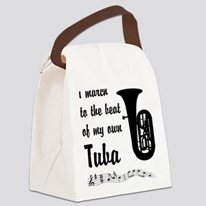 MarchTuba Canvas Lunch Bag