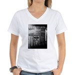 Opelousas, 1938 Women's V-Neck T-Shirt
