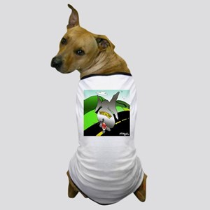 7423_elephant_cartoon Dog T-Shirt