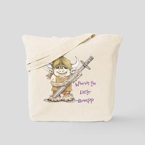 Easter Troll Tote Bag