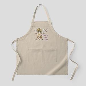 Easter Troll BBQ Apron