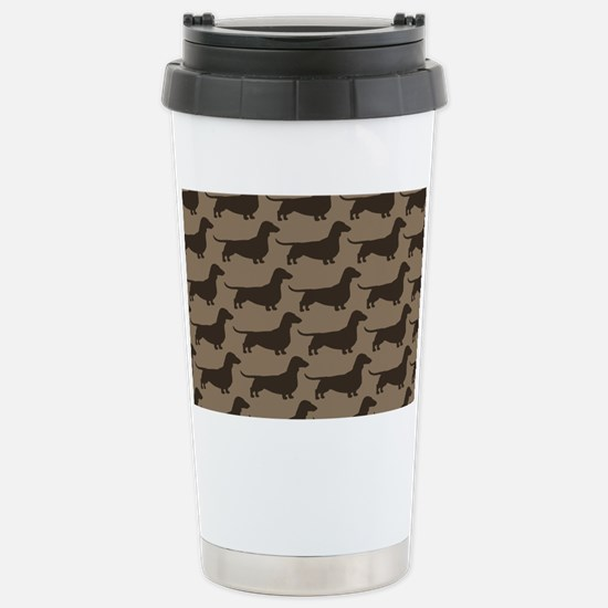 doxiebag2 Stainless Steel Travel Mug
