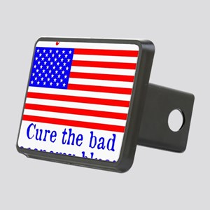 BuyAmerican Rectangular Hitch Cover