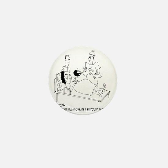 6804_motorcycle_cartoon Mini Button