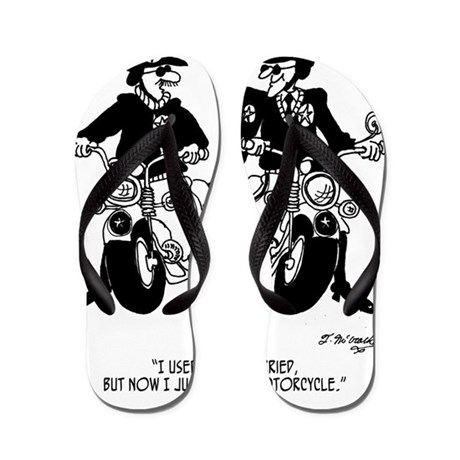 husband and wife motorcycle flip flops cafepress 900 S Clothing