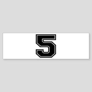 5 Bumper Sticker