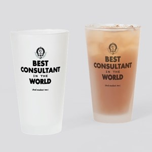 The Best in the World – Consultant Drinking Glass