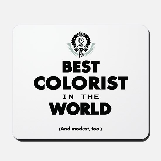 The Best in the World – Colorist Mousepad