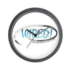 Wired Wall Clock