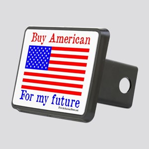 BuyAmericanKids Rectangular Hitch Cover