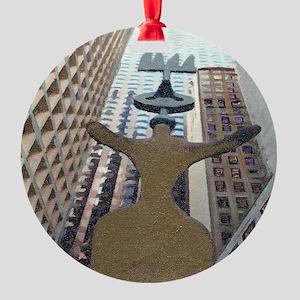 c28 Round Ornament