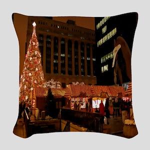 1christmas Woven Throw Pillow