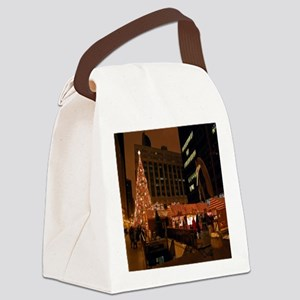 1christmas Canvas Lunch Bag