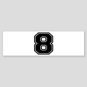 8 Bumper Sticker