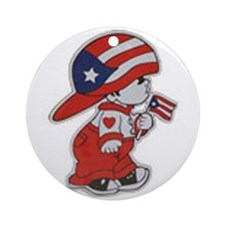 Puerto Rico ROCKS Ornament (Round)