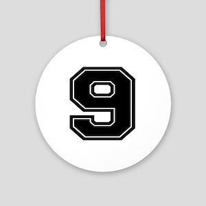 9 Ornament (Round)