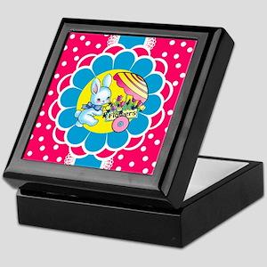 bunnyflowercart_vertical_ipadcase Keepsake Box