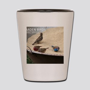 GardenBirds Shot Glass