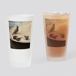 GardenBirds Drinking Glass