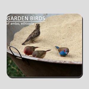 GardenBirds Mousepad