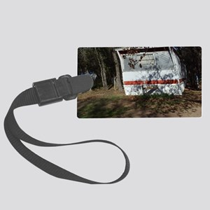 Up Town Trailer Trash Large Luggage Tag