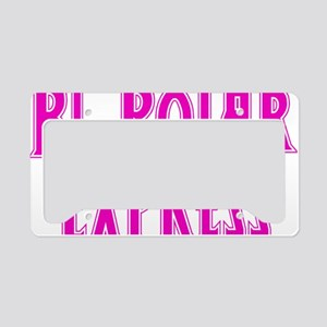 melon, Bi-Polar 2 License Plate Holder