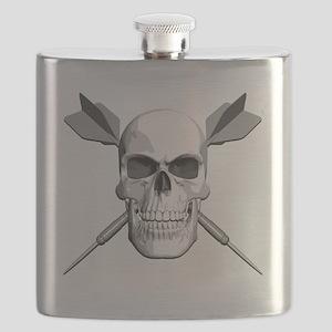 dart_skull Flask