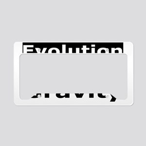 evolution4 License Plate Holder
