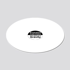 evolution5 20x12 Oval Wall Decal