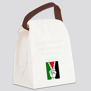 there should be a rule Canvas Lunch Bag