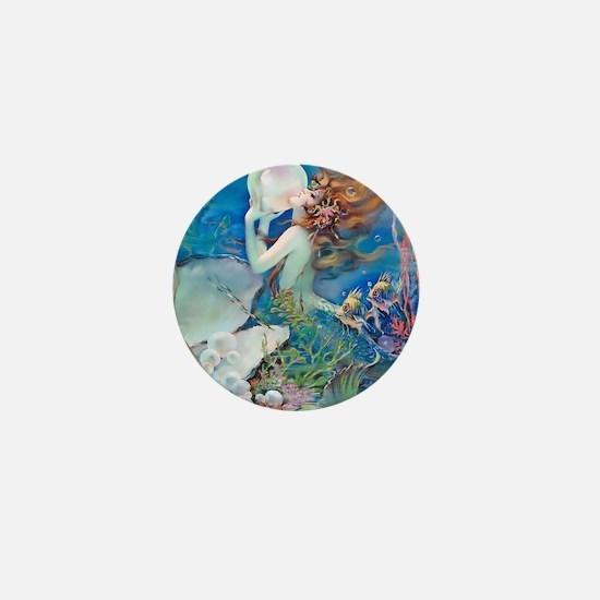 Pillow-CLIVE-Mermaid Mini Button