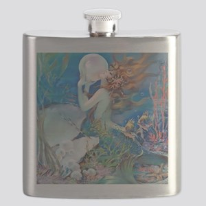 Pillow-CLIVE-Mermaid Flask