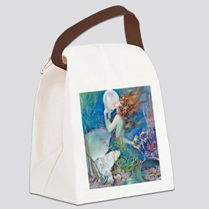 Pillow-CLIVE-Mermaid Canvas Lunch Bag
