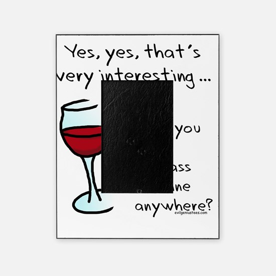 seenmywine picture frame - Wine Picture Frames