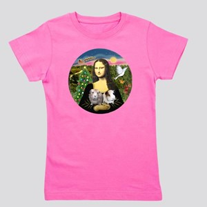 R-Mona-Two GuineaPigs Girl's Tee