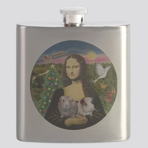 R-Mona-Two GuineaPigs Flask