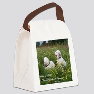 CINClumbersCvr Canvas Lunch Bag
