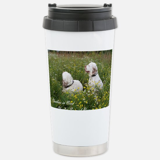 CINClumbersCvr Stainless Steel Travel Mug