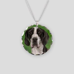 mantle Necklace Circle Charm