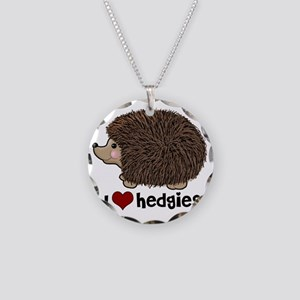 hearthedgies Necklace Circle Charm