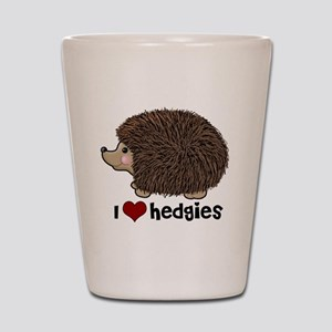 hearthedgies Shot Glass