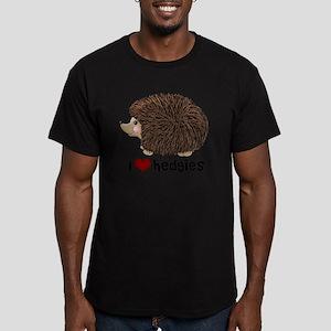 hearthedgies Men's Fitted T-Shirt (dark)