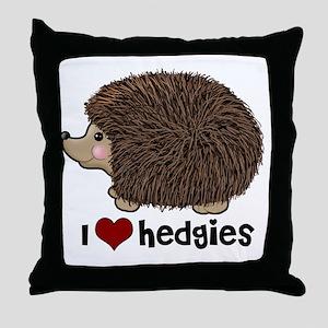 hearthedgies Throw Pillow